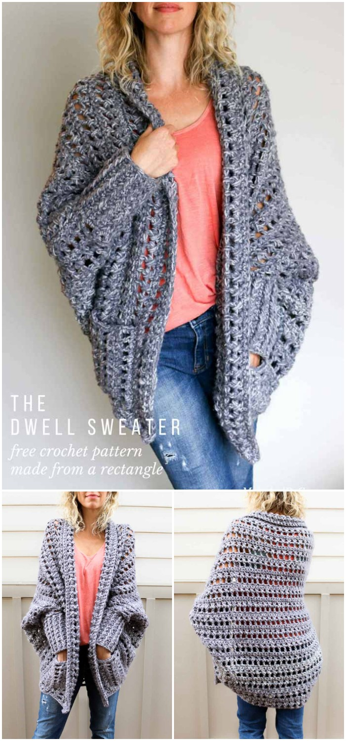 Chunky Crochet Sweater: