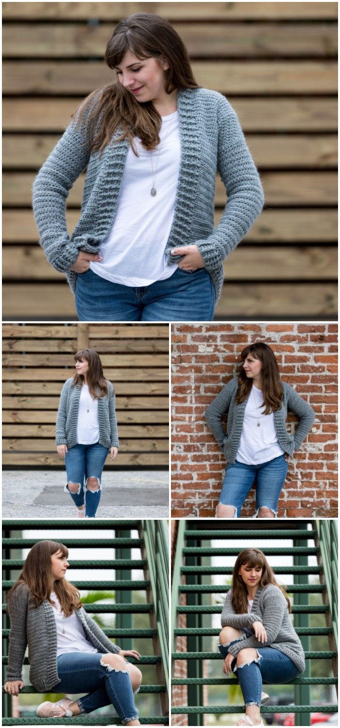 Everyday Crochet Cardigan: