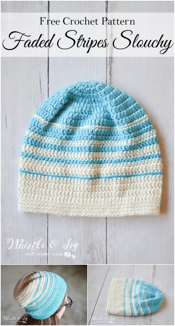 Faded Stripes Hat