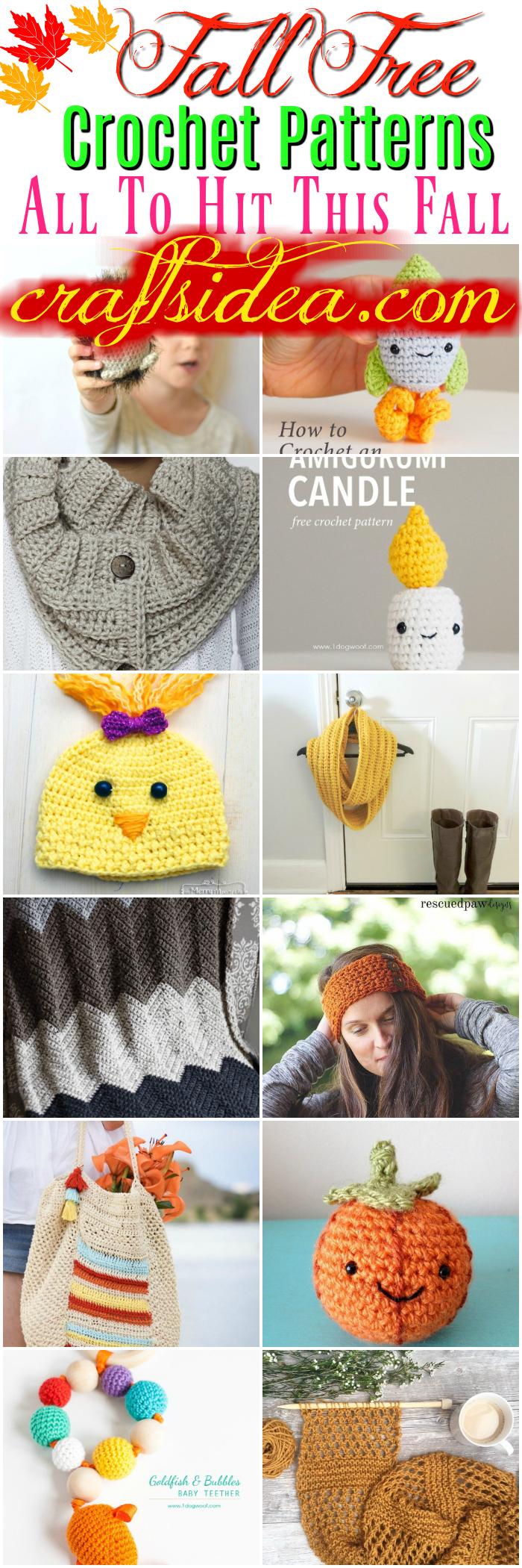 Fall Free Crochet Patterns