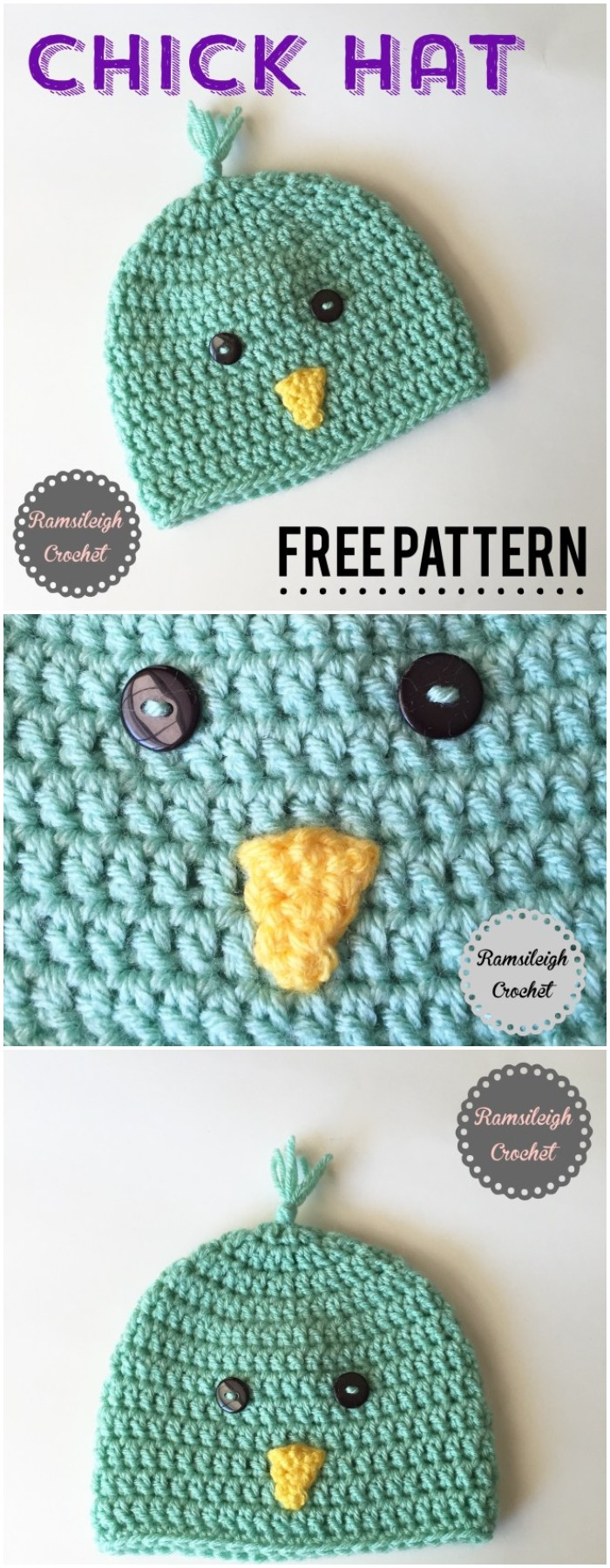 Spring Chick Hat {free Pattern}