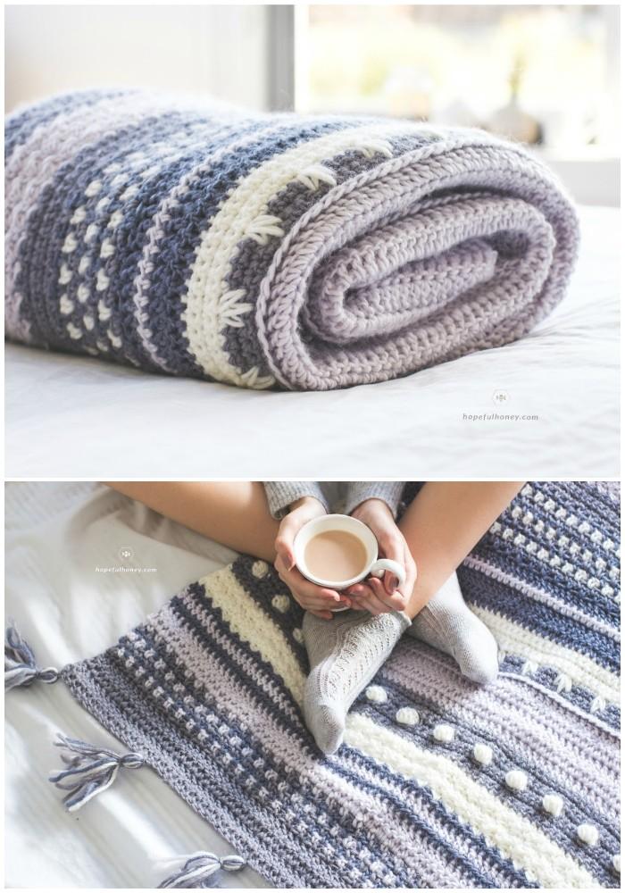Blanket Crochet Pattern