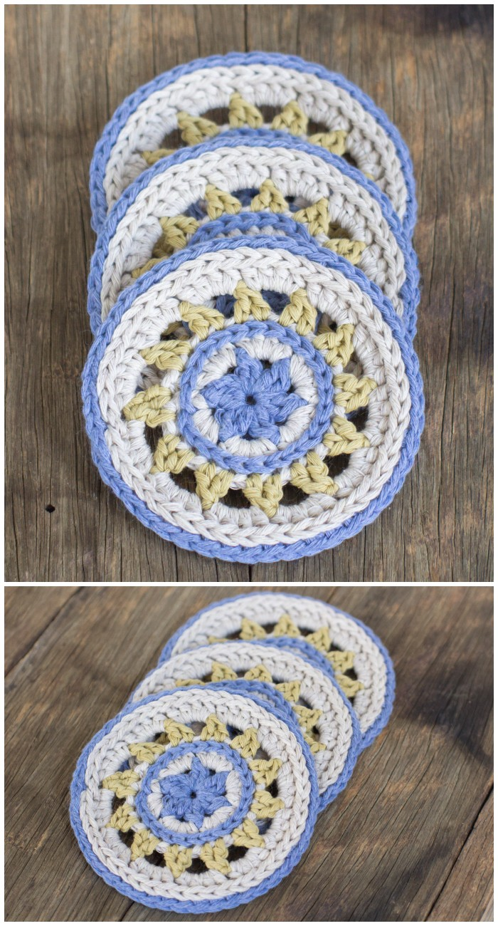 Coasters Crochet Pattern