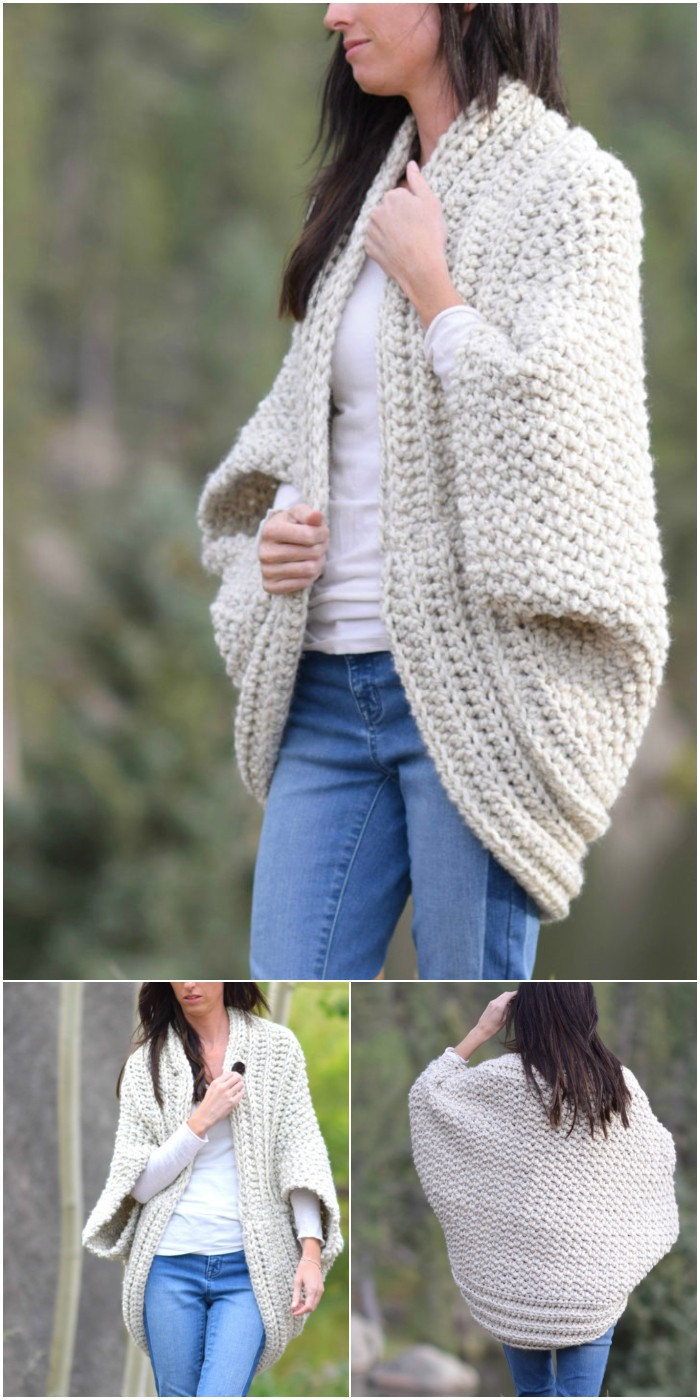 Cozy Blanket Cardigan