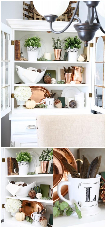 DIY Dining Room Hutch