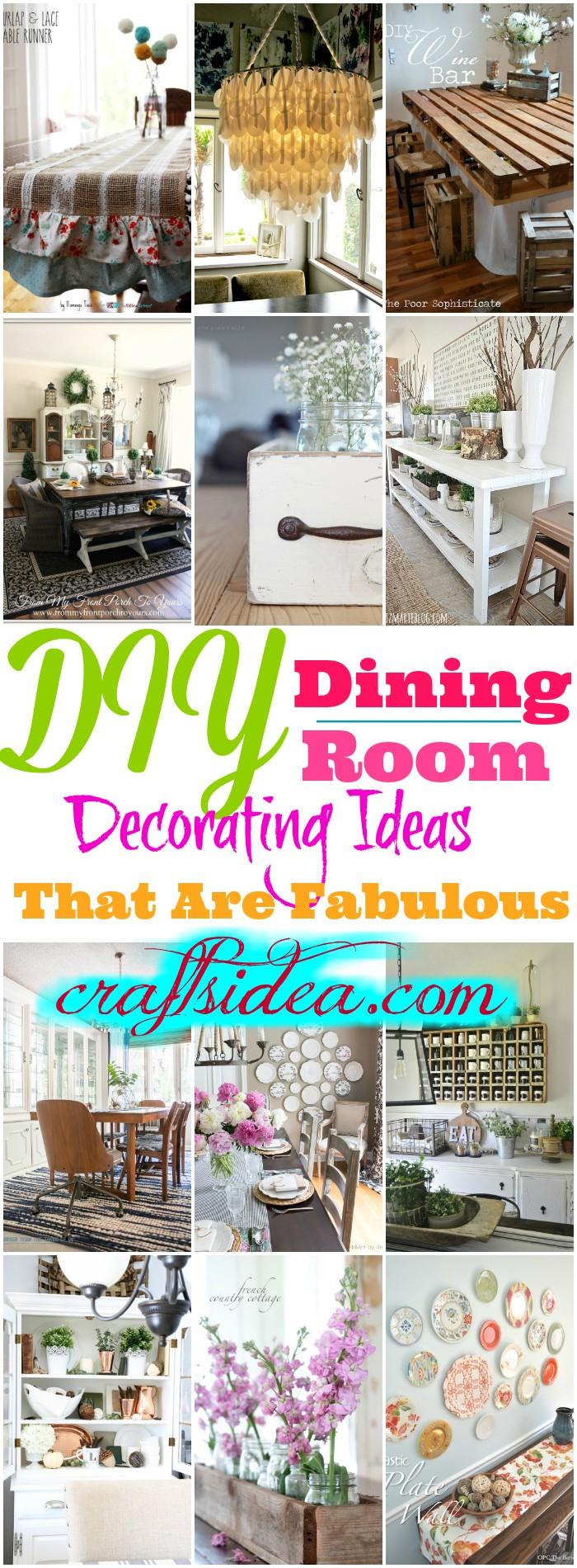 DIY Dining Room