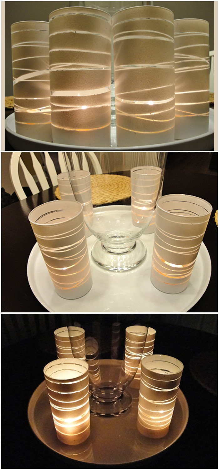Elegant Votive Candle Holders