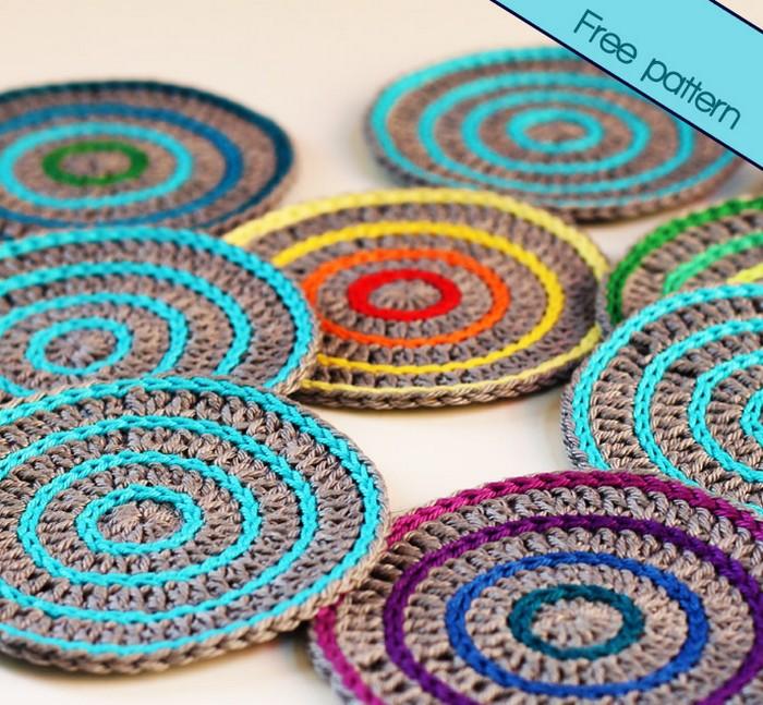 Free Crochet Pattern Roller Coasters