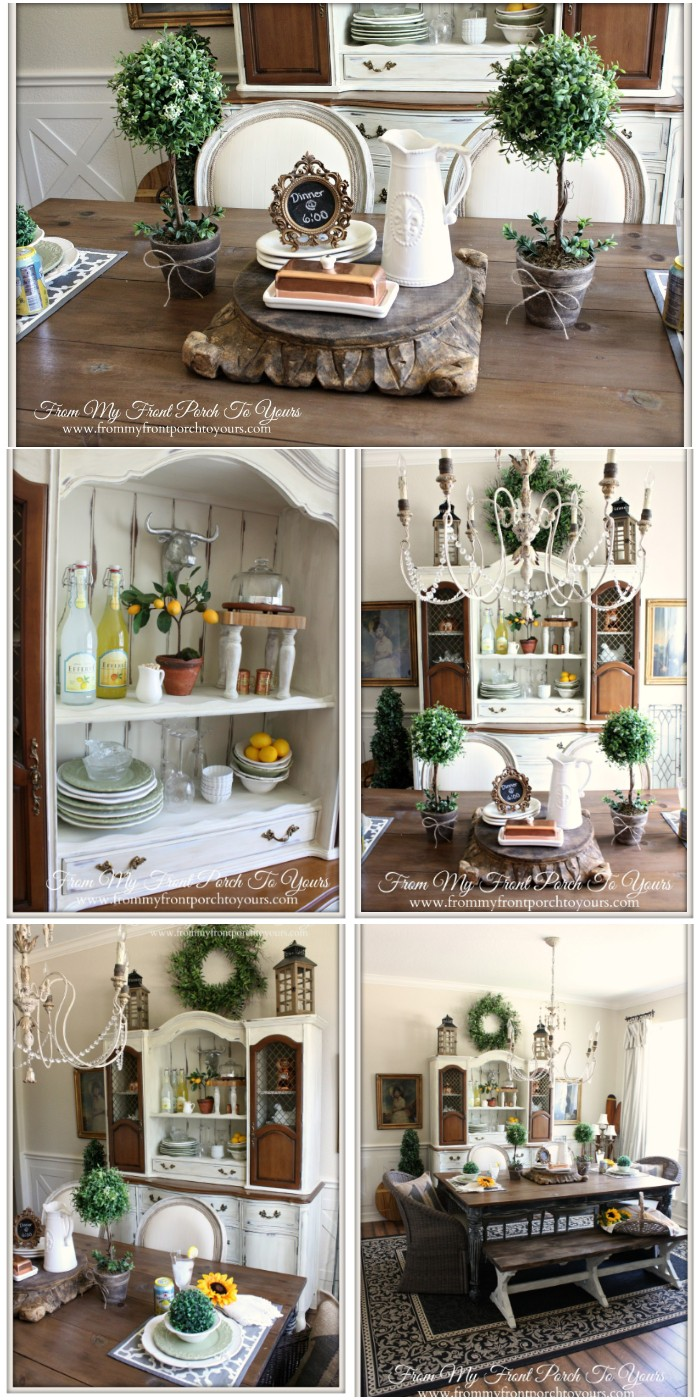 French Dining Room Reveals