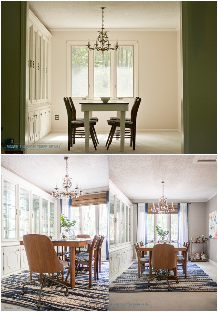Our Eclectic Formal Dining Room