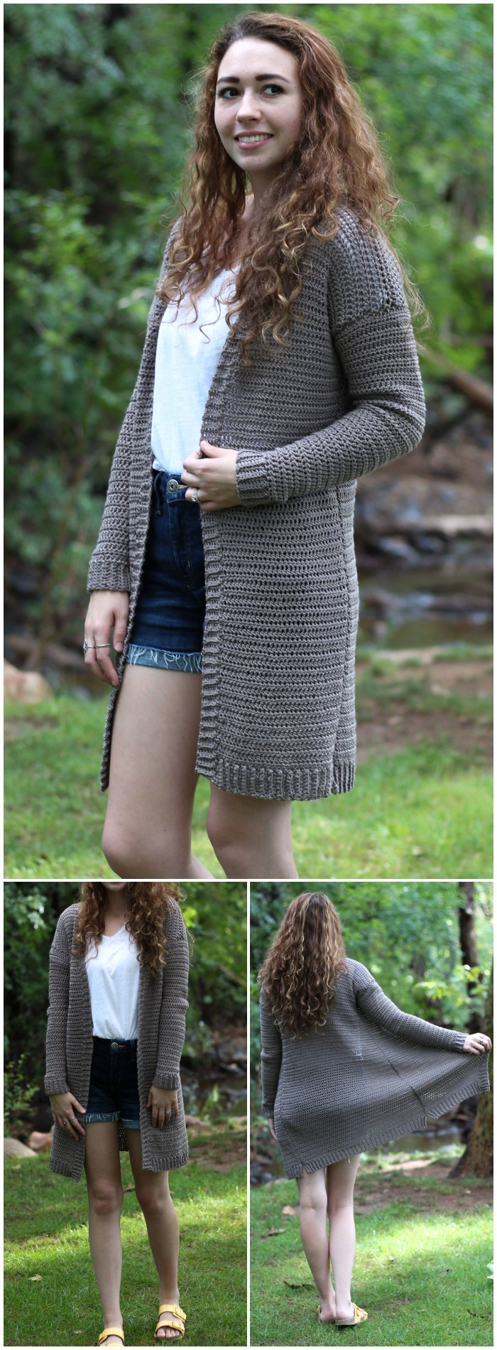 The Campfire Cardigan - Free Crochet Pattern