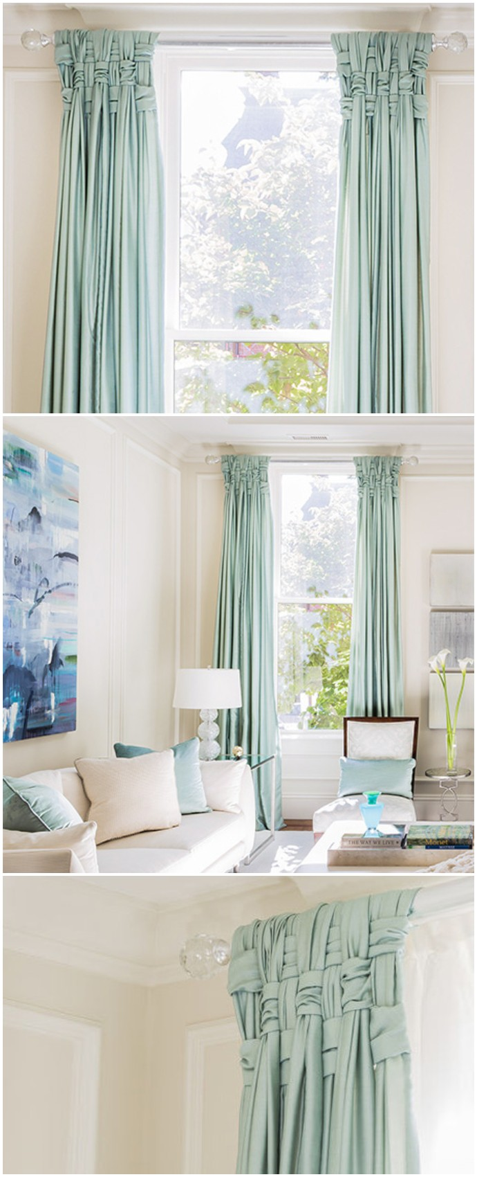 Curtains with a twist