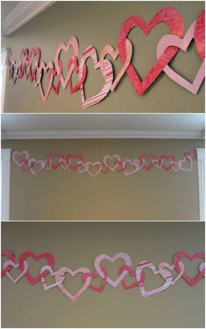 Cute Valentine's Day Heart Banner