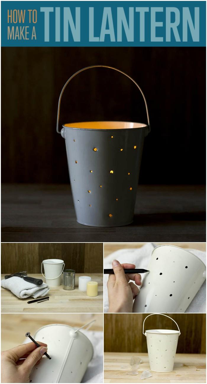 DIY Projects Learn Tin Lantern