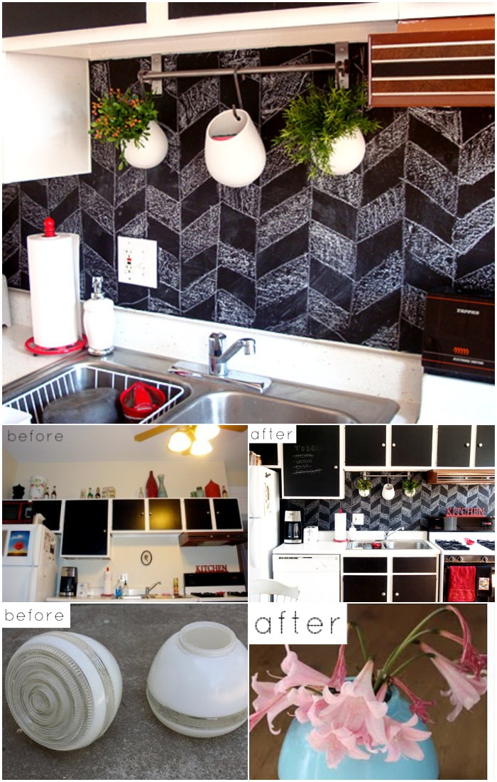 DIY before & after