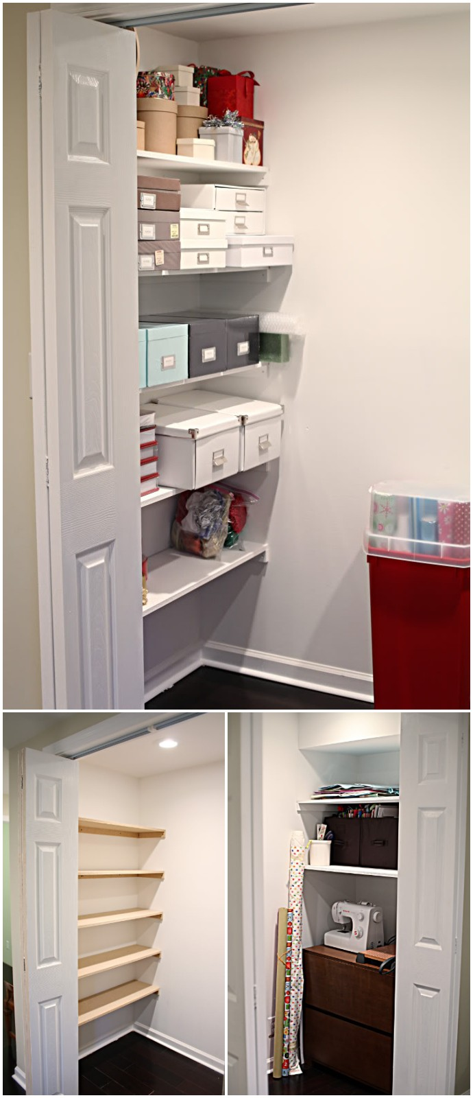 Diy Closet Organization Shelves