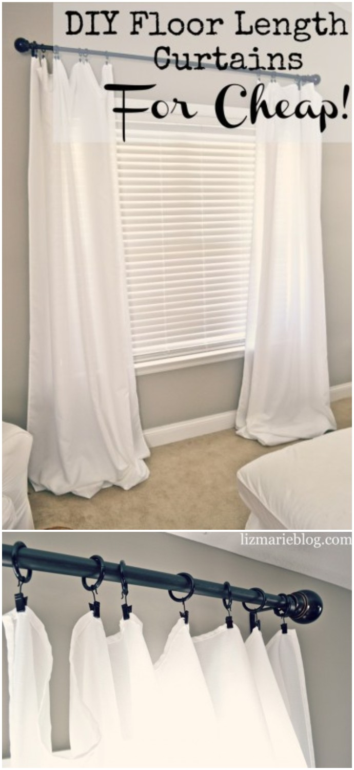 Diy Floor Length Curtains