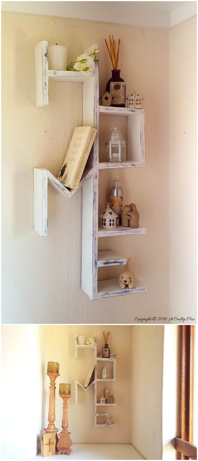Diy Home Letters Shelves