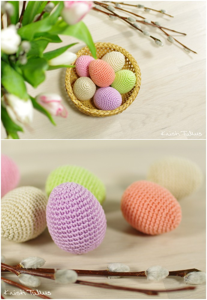 Free Pattern Easter Eggs