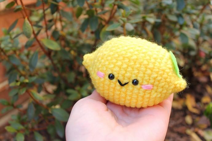 Lemon Cute Amigurumi Free Pattern