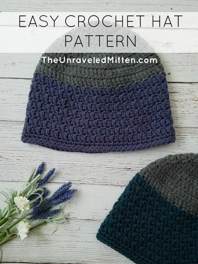 Rapids Beanie Free Crochet Pattern