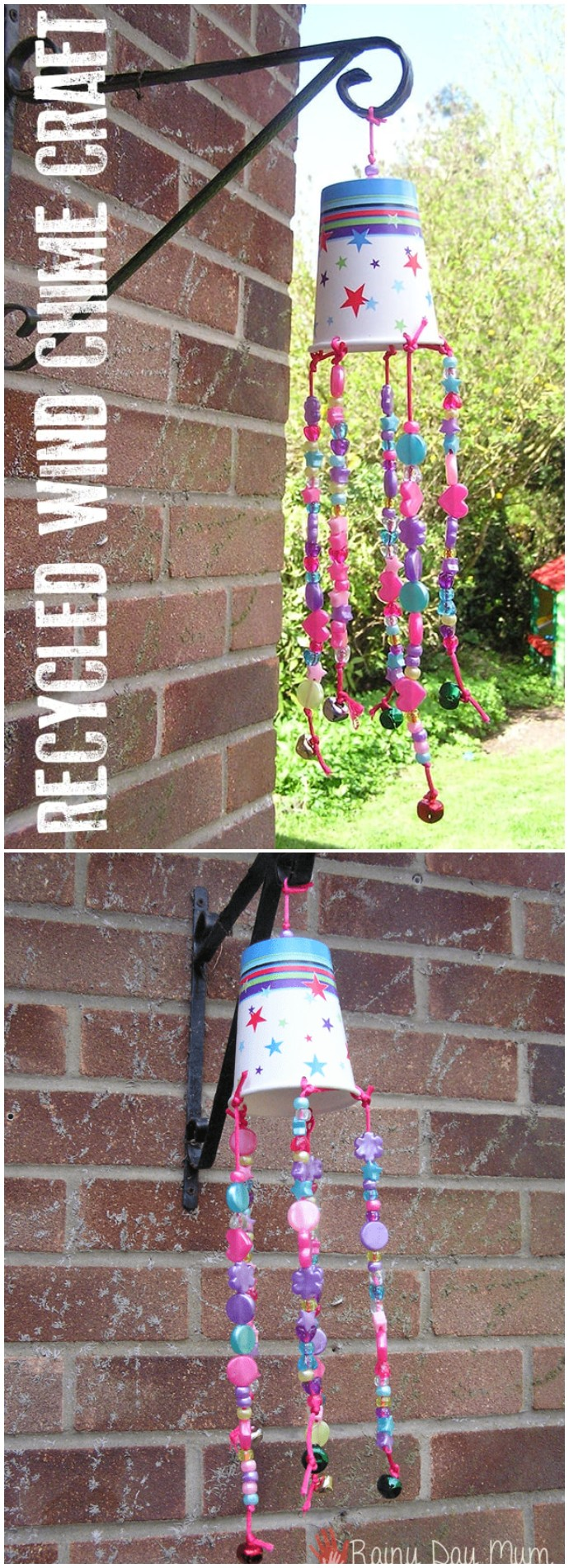 Simple Wind Chime Craft For Toddlers