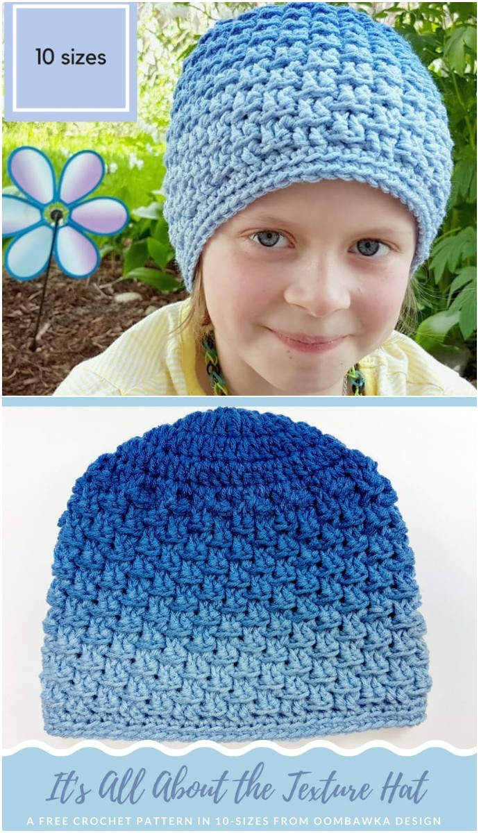 The Texture Hat Free Pattern