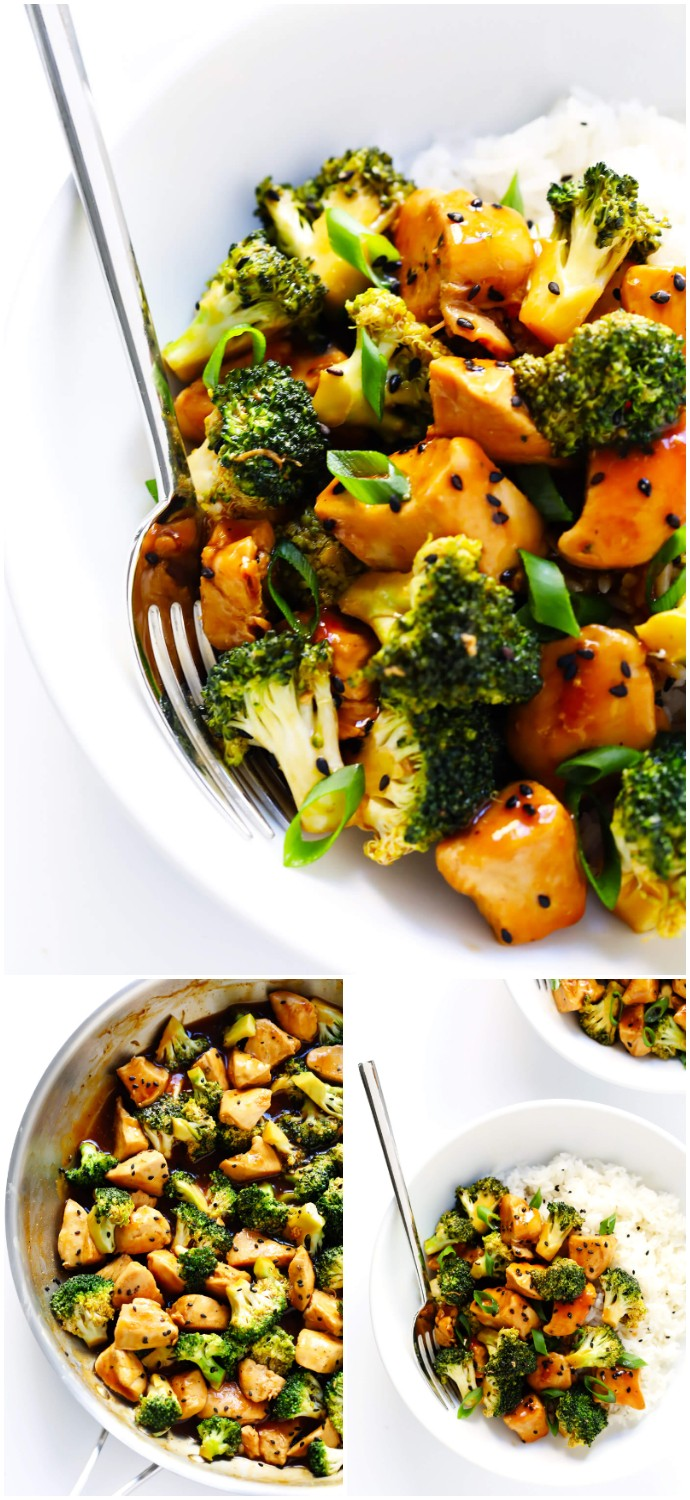12-minute Chicken And Broccoli healthy dinner