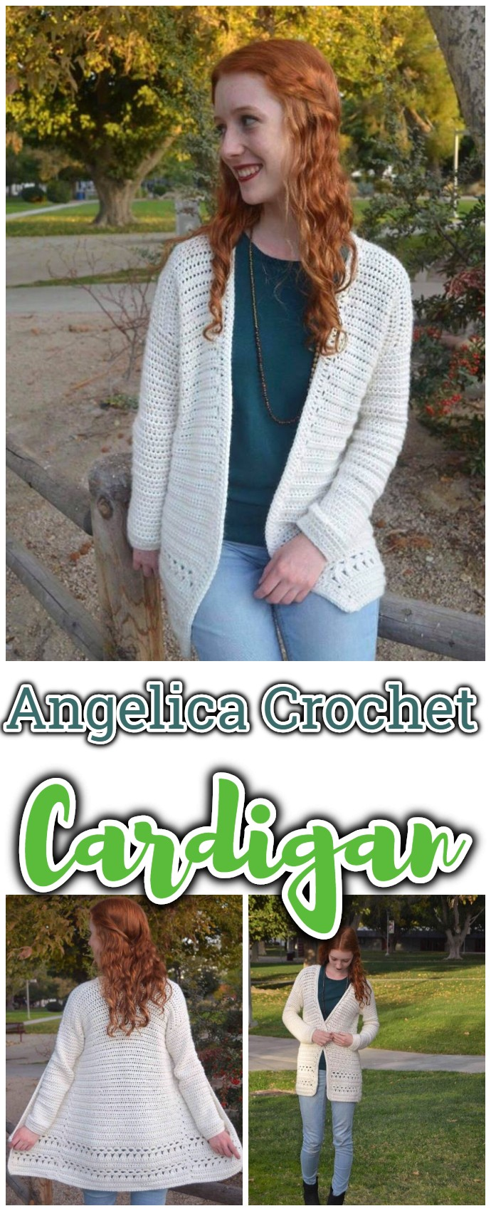Angelica Crochet Cardigan