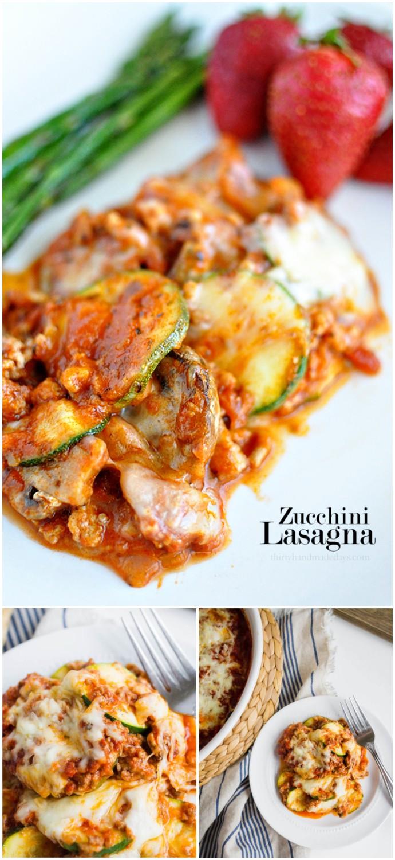 Healthy Zucchini Lasagna Recipe