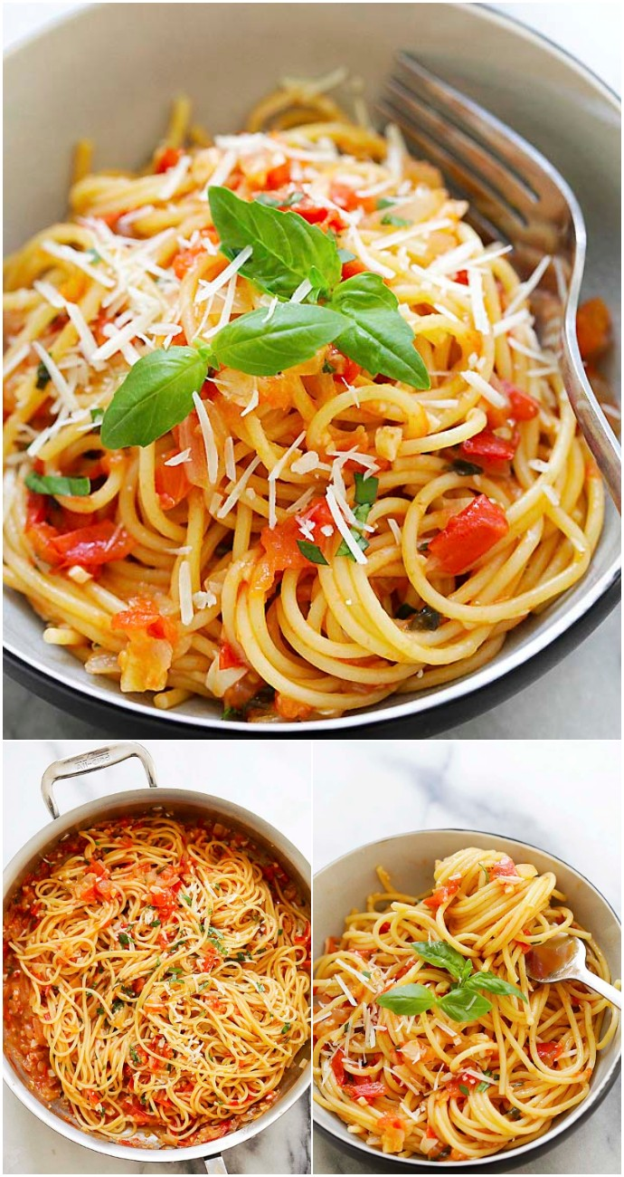 One Pan Easy Pasta