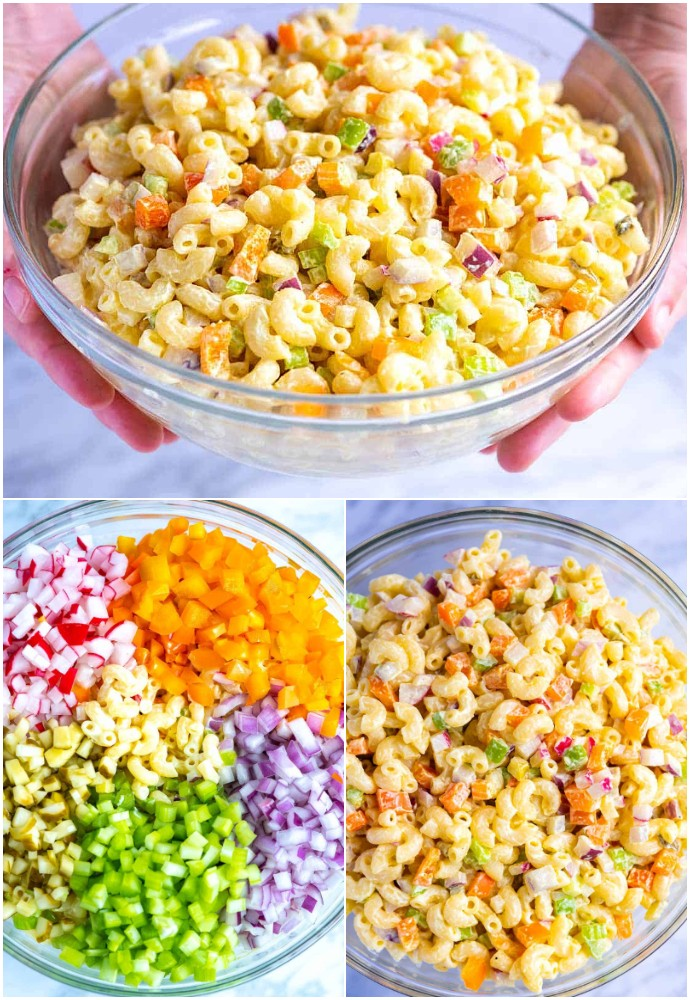 Perfect Creamy Macaroni Pasta Salad