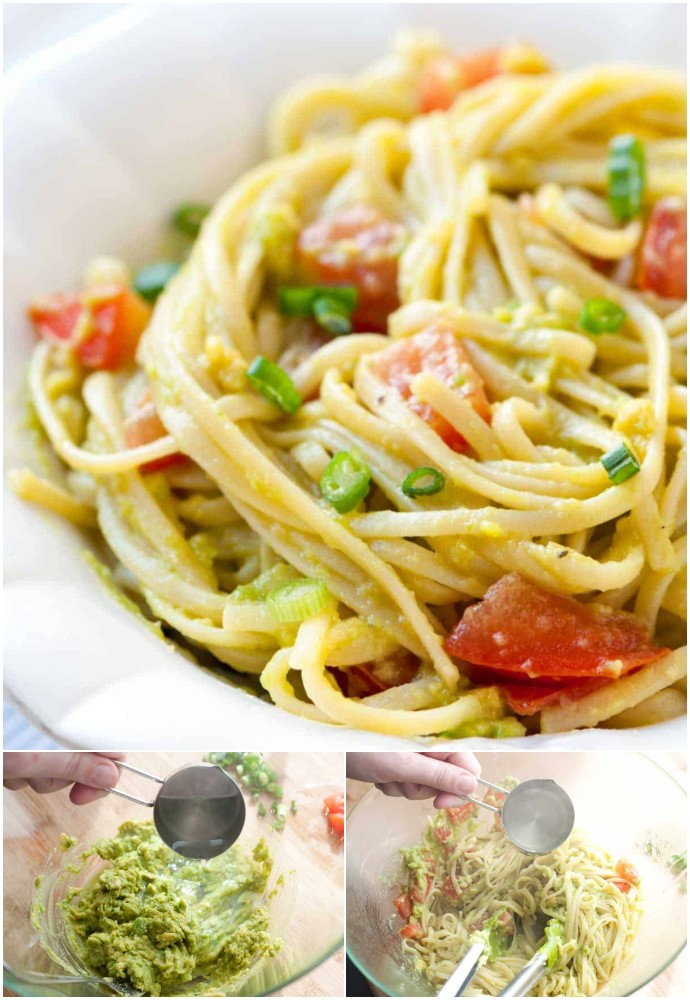 Quick And Easy Avocado Pasta Recipe