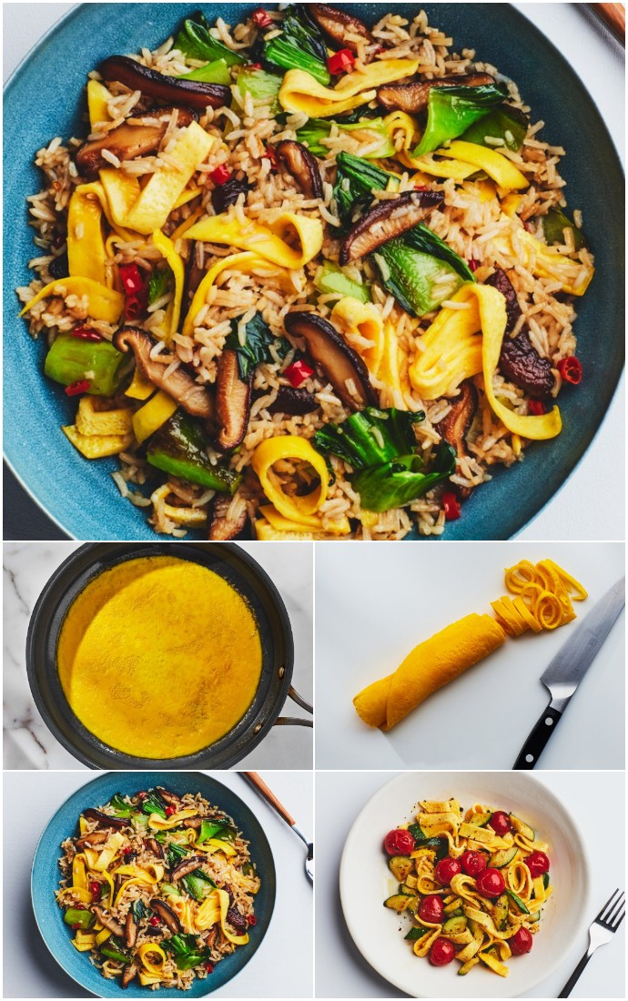 These Noodles Are Our Latest Egg Obsession healthy dinner
