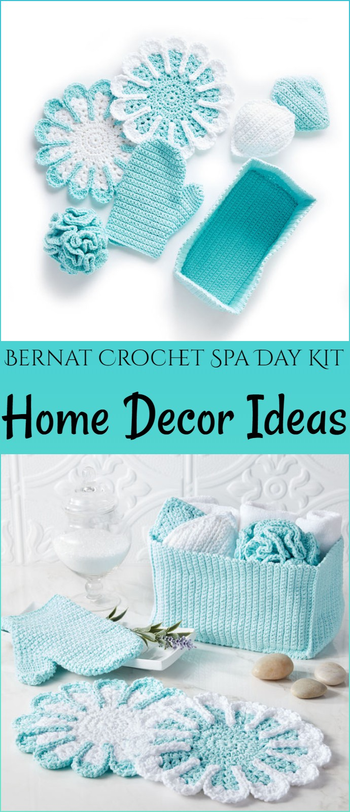 Bernat Crochet Spa Day Kit Home Decor Ideas