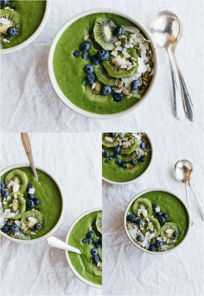 Clean Green Smoothie Bowl Recipe