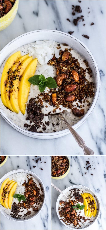 Coconut Banana Oats Bowl Recipe