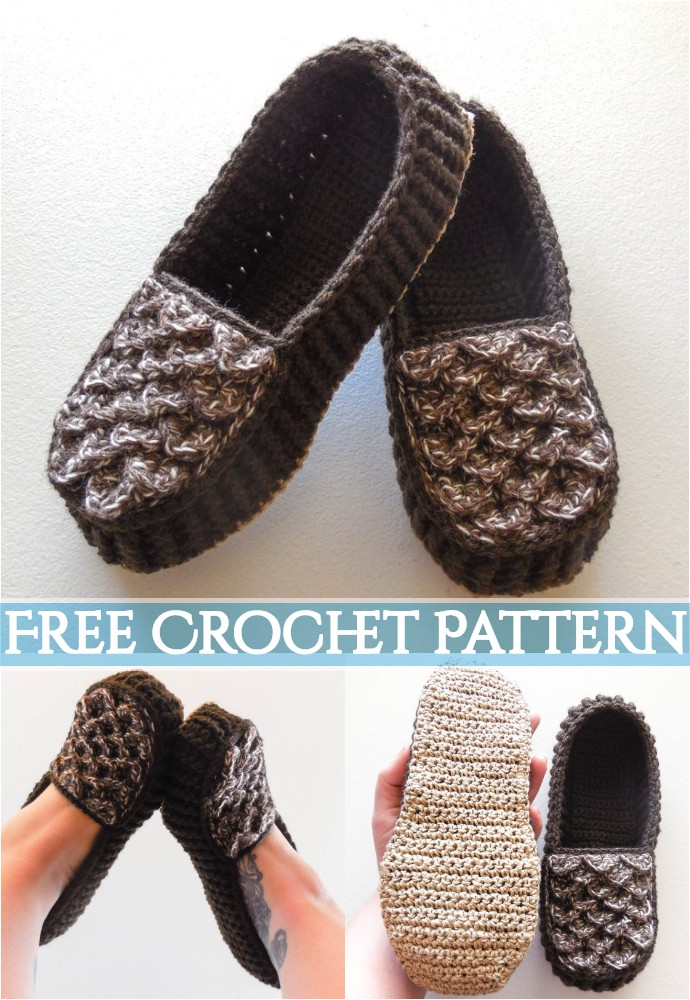 Crocodile Stitch House Slippers