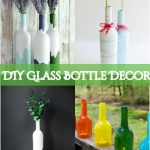 DIY Glass Bottle Decor