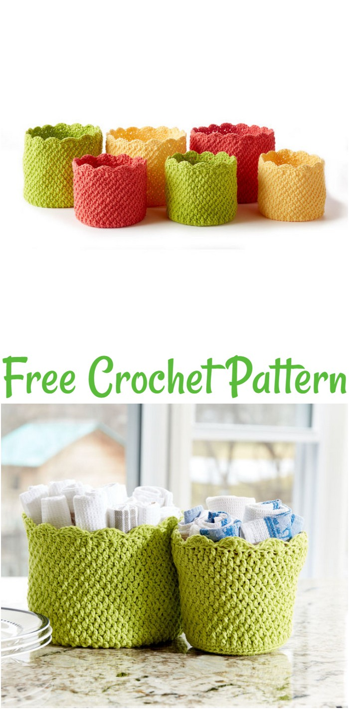 Free Easy Crochet Basket Pattern
