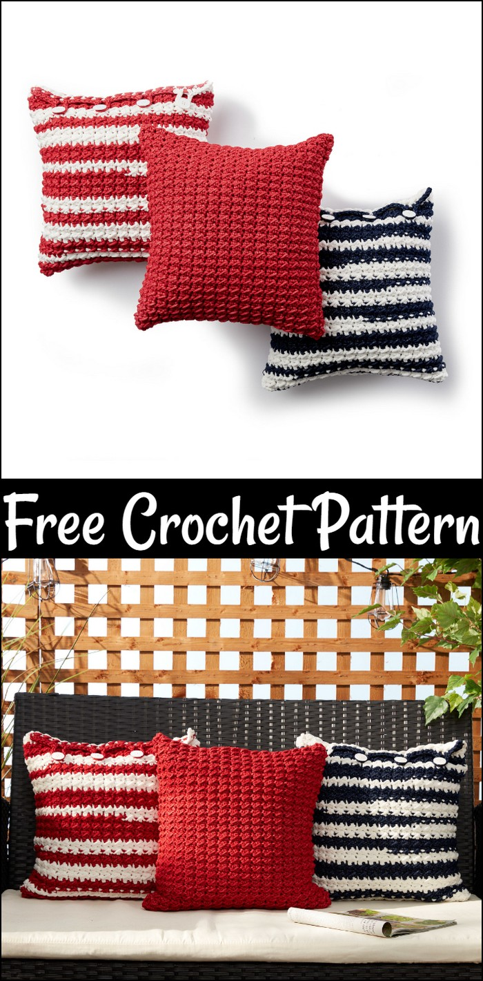 Free Easy Crochet Pillow Pattern
