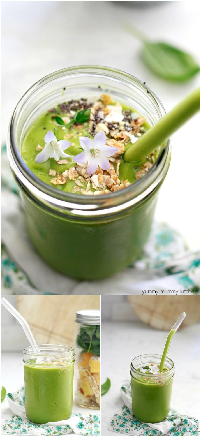Green And Glowing Smoothie Recipe