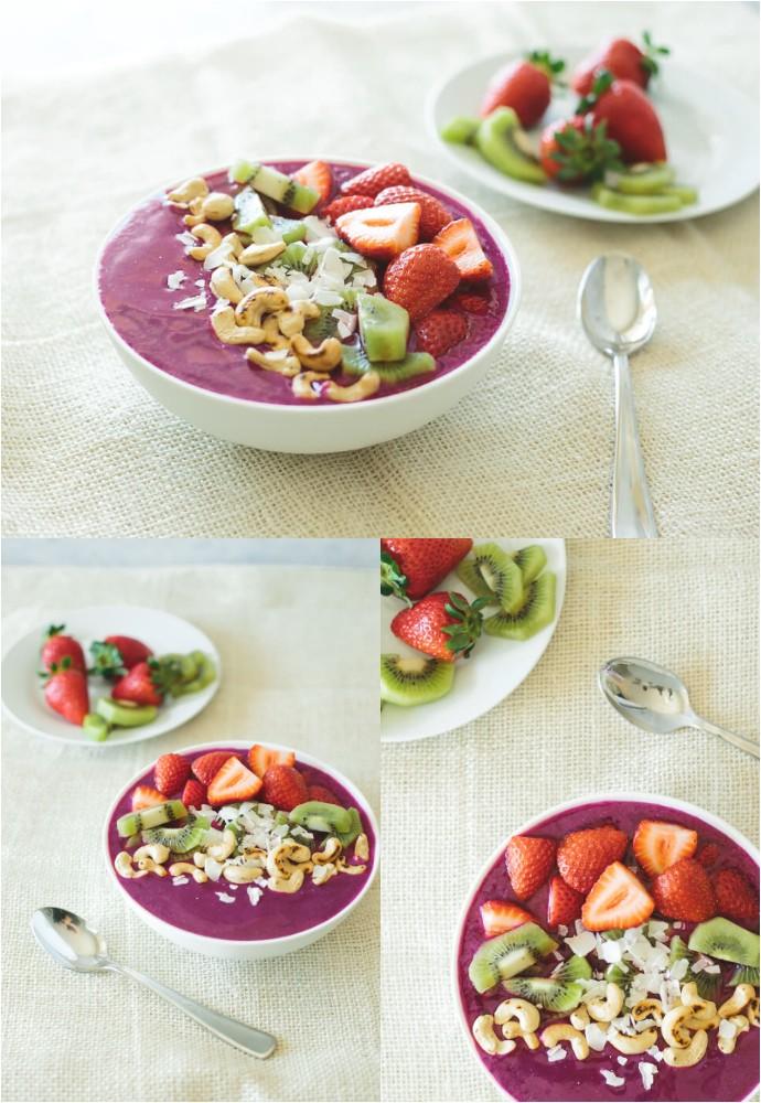 Pitaya Smoothie Bowl Recipe
