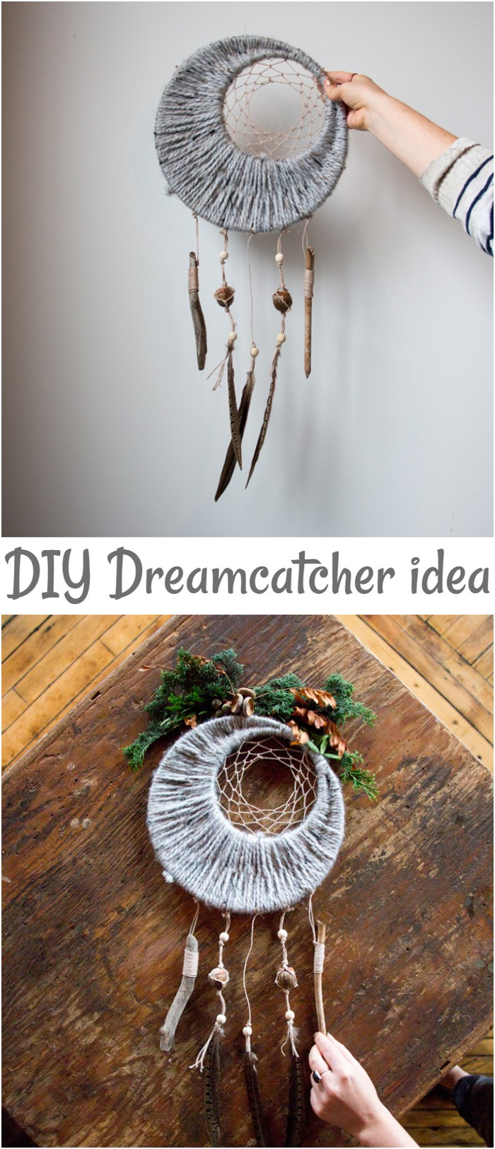 DIY Fall Dreamcatcher