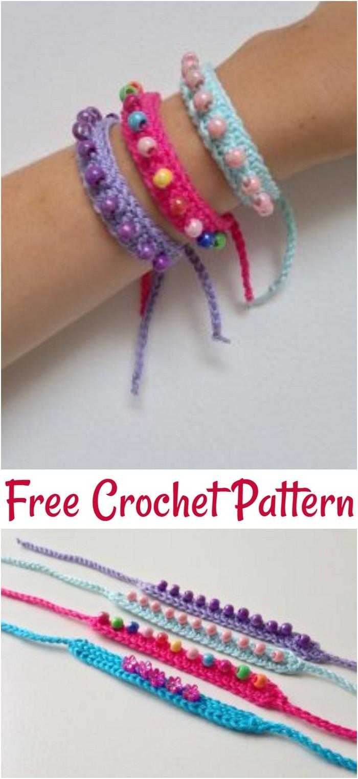 Free Crochet Friendship Bracelets