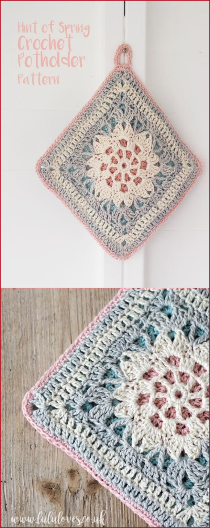 Free Crochet Potholder Patterns For Your Kitchen