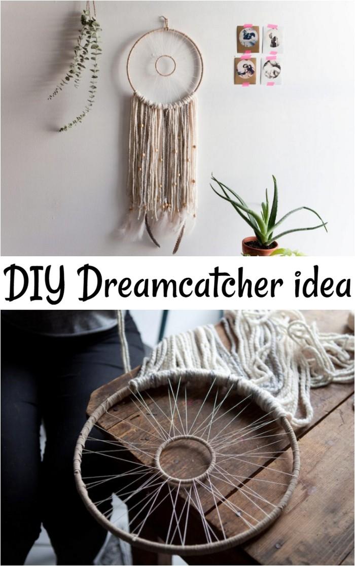Modern Woven Dreamcatcher