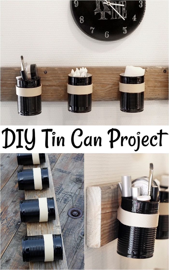 Tin Can Wall Project