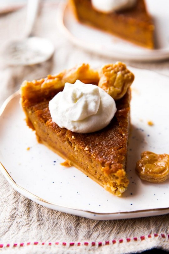 Brown Sugar Sweet Potato Pie