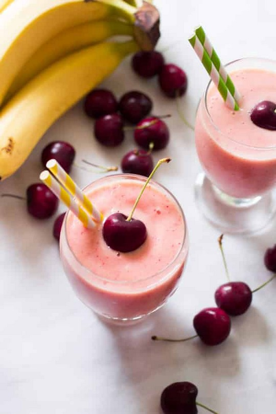 Cherry Pineapple Smoothie Recipe